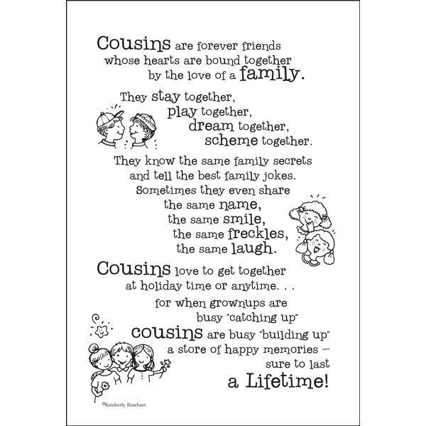 Cousins Scrapbook Stickers | Quotes - 51.9KB