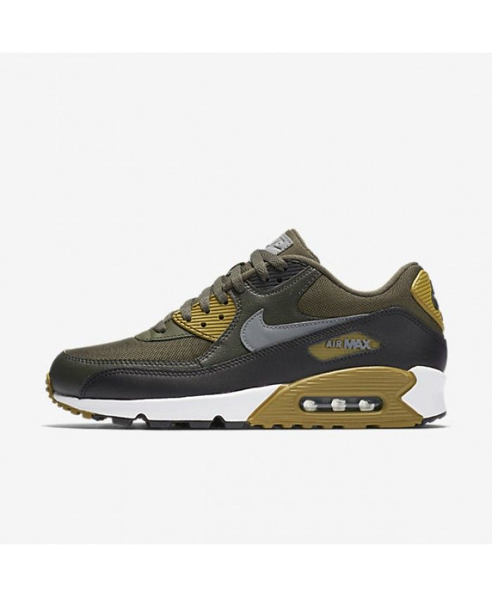 new styles 0cc02 f2848 ... discount expédition mondiale nike air max 90 essential pour homme.kaki  cargo nike air max