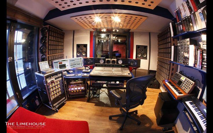 Recording Studio Control Room