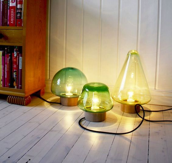 Table Lamps, Inspired By Forest And Wet Grass, Modern Lighting Design Ideas
