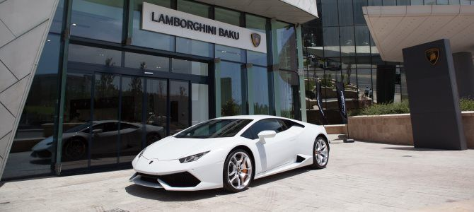 Azerbaijan Welcomes New Lamborghini Dealership #evlear #cars #lamborghini