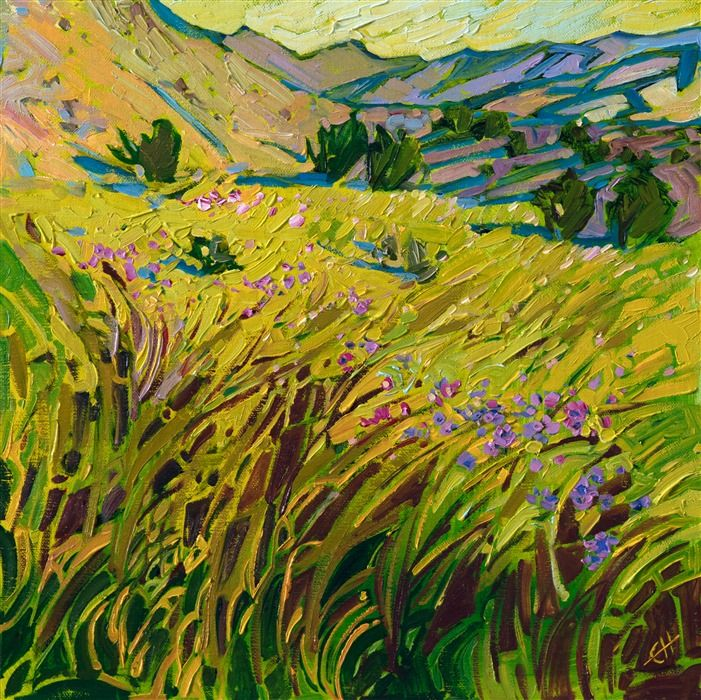Apple Greens Contemporary Impressionism Art Gallery In San Diego Modern Landscape Oil Paintings Fo Landscape Art Landscape Paintings Oil Painting Landscape