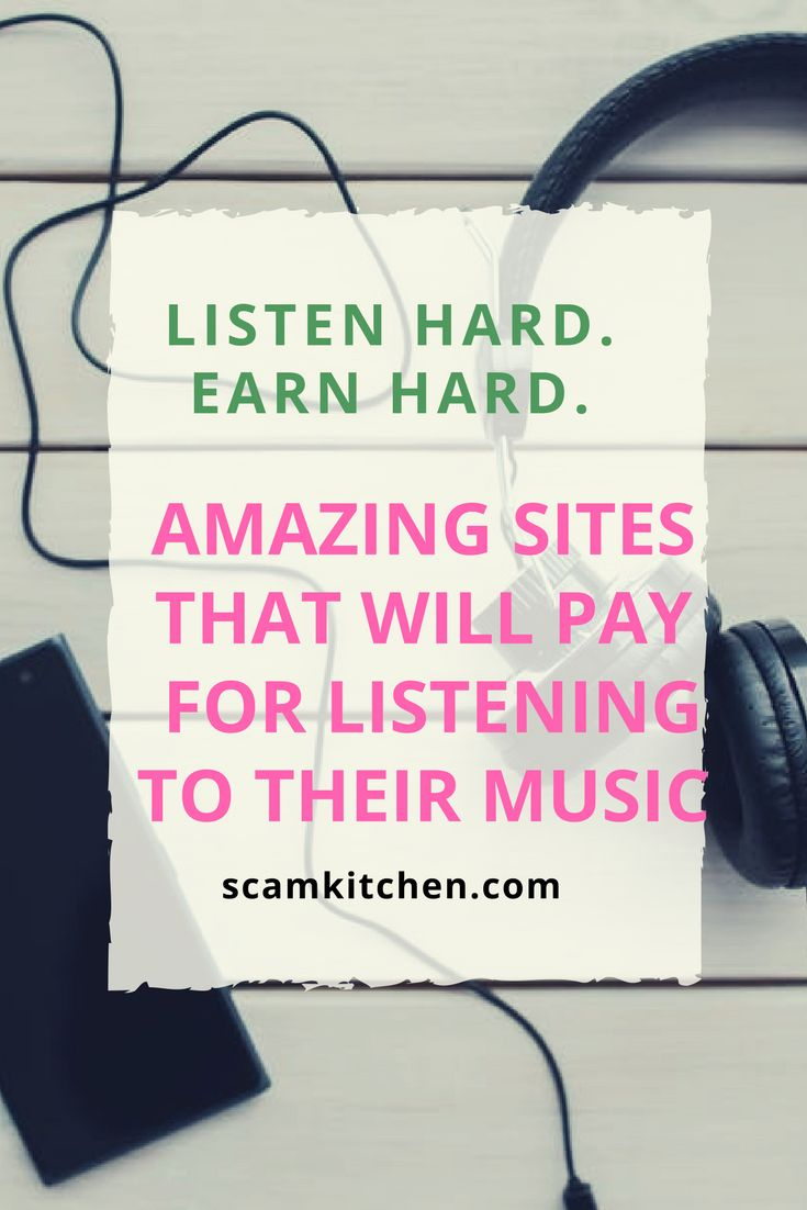 Earn money by just listening to music!!! #onlinemoney #listentosongs #easymoneymaking - scamskitchen.com