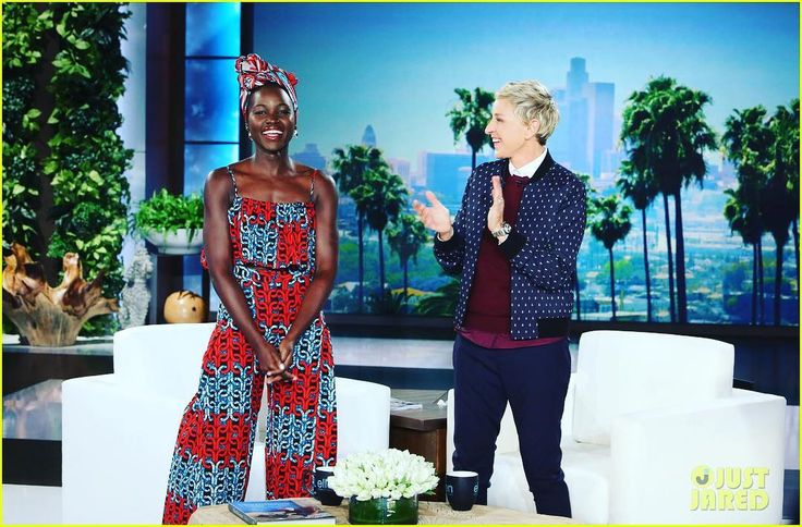 When @lupitanyongo wore this outfit to the @ellen_degeneres i must share with you exactly what was happening in my life outside of social media. I had just returned from @sourcingatcoterie one of the biggest trade shows for apparel manufacturers . I went to represent @madein_camer fair trade factory. I got into this show through plain favor. An exhibition stand that cost about $10.000 was offered to me at no cost. Ah God's favor! I finished this event made great contacts but did not go home…