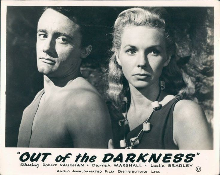 ROBERT VAUGHN TEENAGE CAVEMAN OUT OF THE DARKNESS LOBBY
