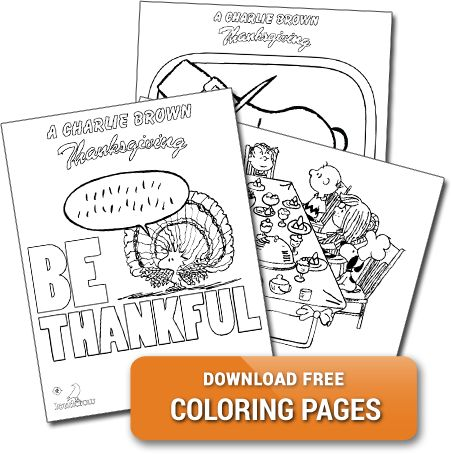 Have you seen our #CharlieBrown #Thanksgiving themed coloring pages? Download them for #FREE today!