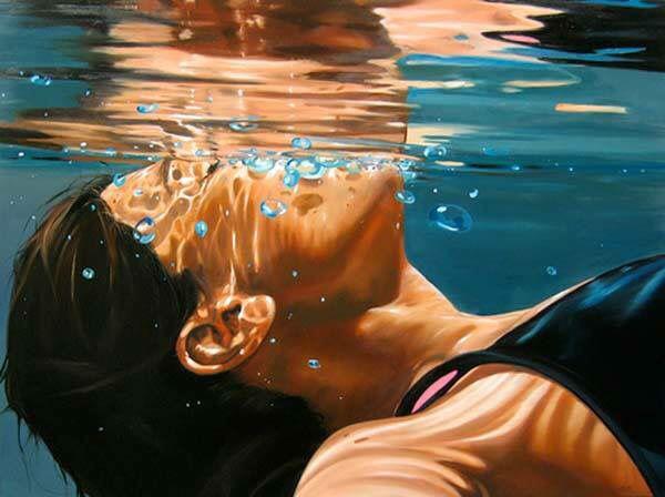 A la Deriva. Pintura al óleo Eric Zener