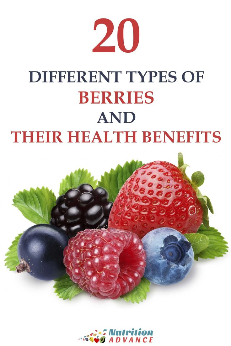 20 Types of Berries and Their Health Benefits - Calories, Carbs, Nutrients, Studies, Recipes, and Berry Trivia. How Many Do You Know? via @nutradvance