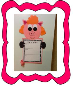 Literacy activities for Pig in a Wig First Grade Reading Street...anchor charts for plot and summarizing...games for word work...illustrations for amazing words...craftivity and so much more! $