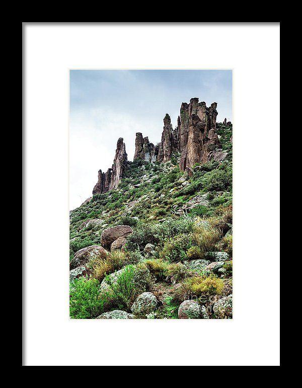 Into the Past by Evgeniya Lystsova   Landscape in desert of Arizona at Tonto National Forest, USA #EvgeniyaLystsovaFineArtPhotography #Landscape #Mountains #TravelPhotography #Arizona #Rocks #Desert #FineArtPrints #HomeDecor #InteriorDesign #WallArt #SellOnLine #FramedPrints