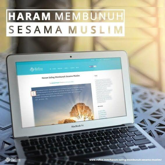 membunuh nyawa sesama muslim diharamkan dan merupakan dosa besar.  More http://www.refiza.com/haram-saling-membunuh-sesama-muslim/