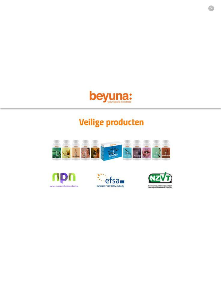 Veilige en wetenschappelijke bewezen producten met gepatenteerde formule