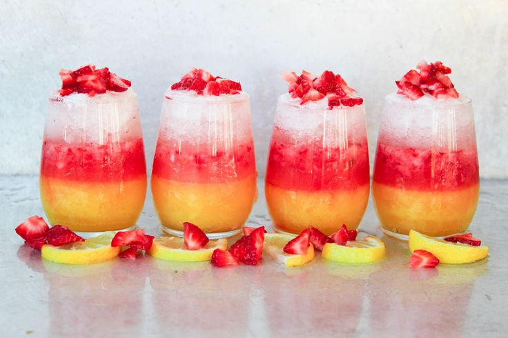Spiked Ombre Lemonade