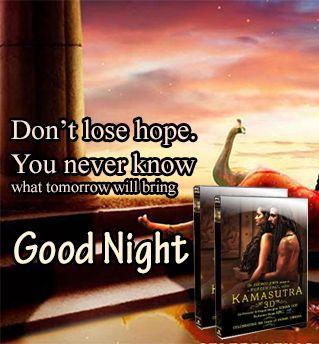 Kamasutra 3D good night poster