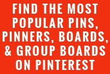 These directories and lists will help you find the most popular, pins, pinners, boards, and group boards on Pinterest. Any articles and tutorials will help you know what to do with the information.