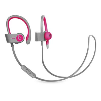 **Gray & Pink please!** Beats by Dr. Dre Powerbeats2 Wireless Headphones - Apple Store (U.S.)