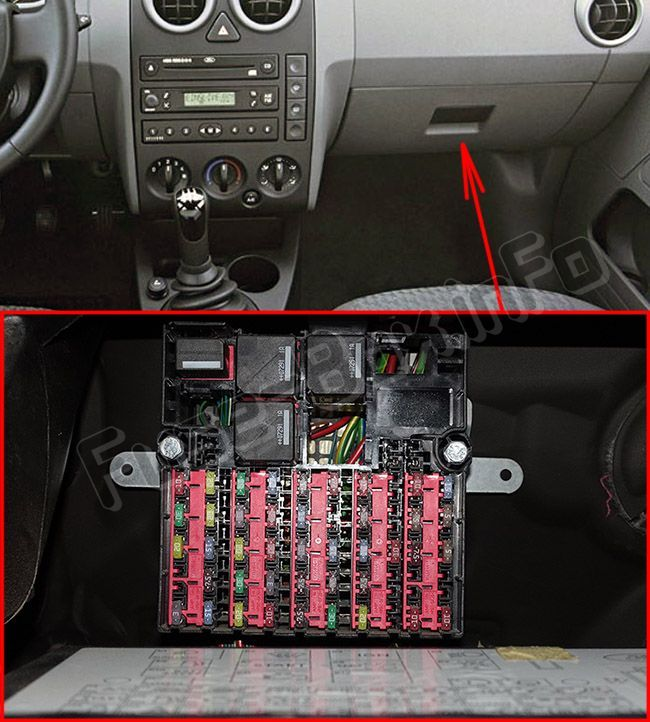 Ford Fusion Eu Model 2002 2012 Fuse Box Location Fuse Box