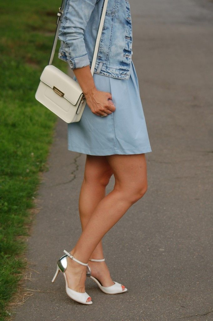Baby blue :) #outifit #set #clothes #skirt #top