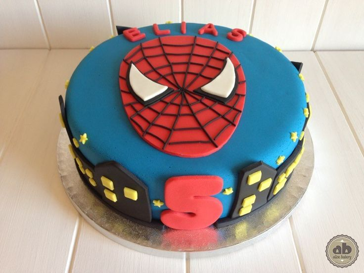Tarta Spiderman | Alice Bakery