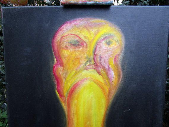il matto quadri Thérèsè impressionista arancione di MarieTheresArt