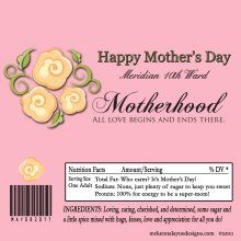 Mothers Day Hershey Candy Bar Wrappers 2