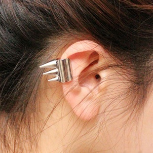 35. Tiny Spikes Ear cuff (gold, silver & brass available) $2