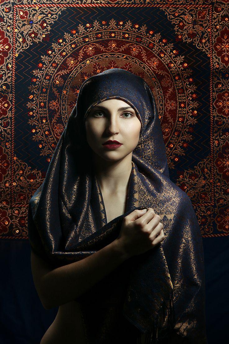 Portrét Martina (Květ pouště pro sultána) foto a postprodukce: www.michalbotek.cz