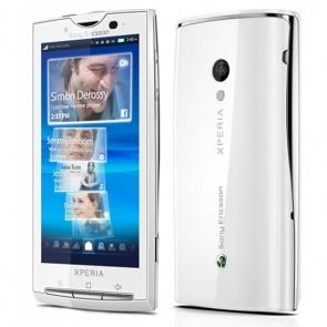 Sony Ericsson Xperia X10I White