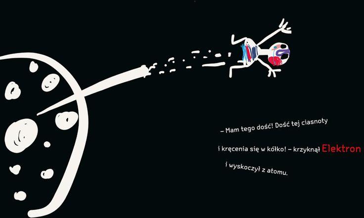 polska ilustracja dla dzieci: Zapowiedź - Zbuntowany Elektron