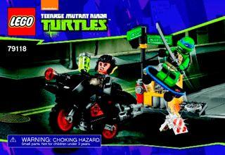 Karai Bike Escape 79118 - LEGO Ninja Turtles TM - Building Instructions - LEGO.com
