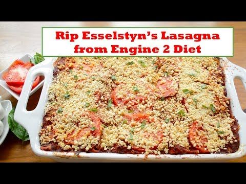 Rip Esselstyn's Sweet Potato-Vegetable Lasagna - YouTube