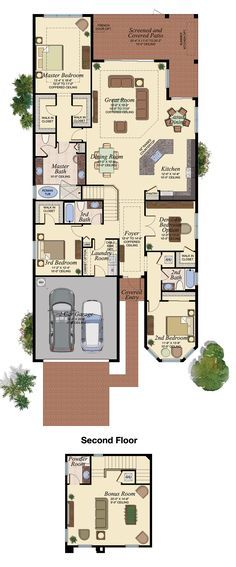 CHANDON GRANDE/512 Floor Plan (Large View)