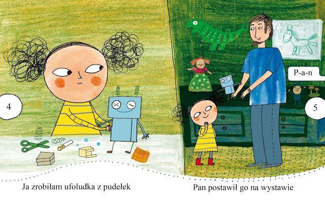 polska ilustracja dla dzieci: Nowość - Marta i ufoludek