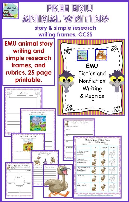 emu creative writing