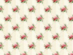 Victorian Rose Clusters of Flowers on Cream, Charlotte, Northcott Fabrics (By Half Yard) (By Half Yard)