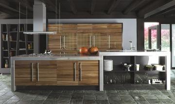 Zurfiz Ultragloss Brown Kitchen - By BA Components, kitchen doors, interior design, home