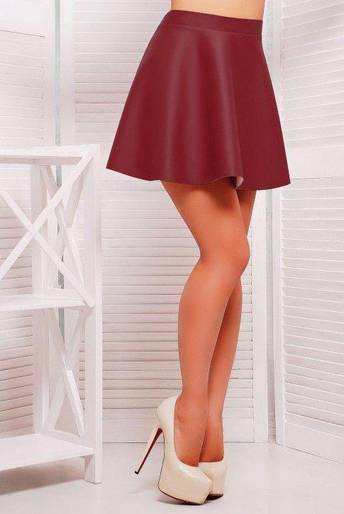 #юбка #экокожа