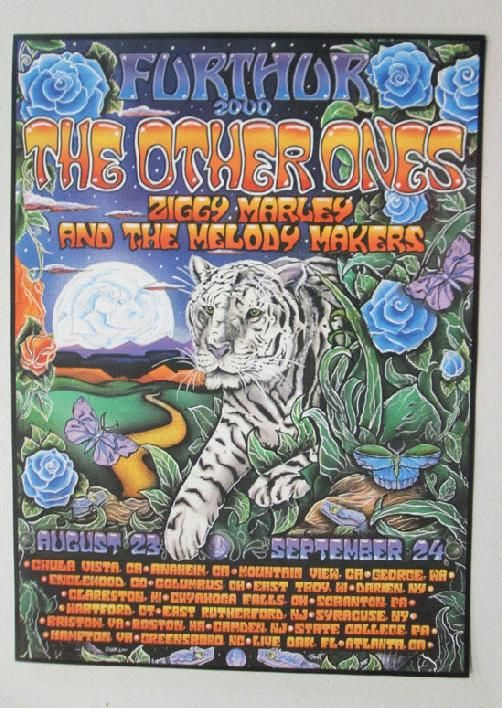 Original concert poster The Other Ones Summer tour in 2000 ...