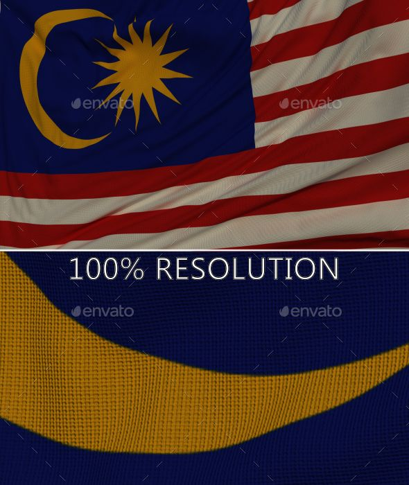 Background Flag of Malaysia