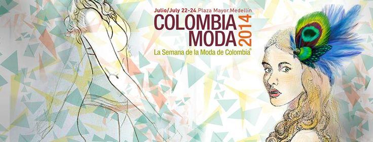 No olviden, que desde mañana estaremos presentes en la versión 2014 de #Colombiamoda a cargo de nuestra Editora general @linarouge . Que tal les parece la portada que creo para este especial evento nuestra directora de arte Amparo Saera?