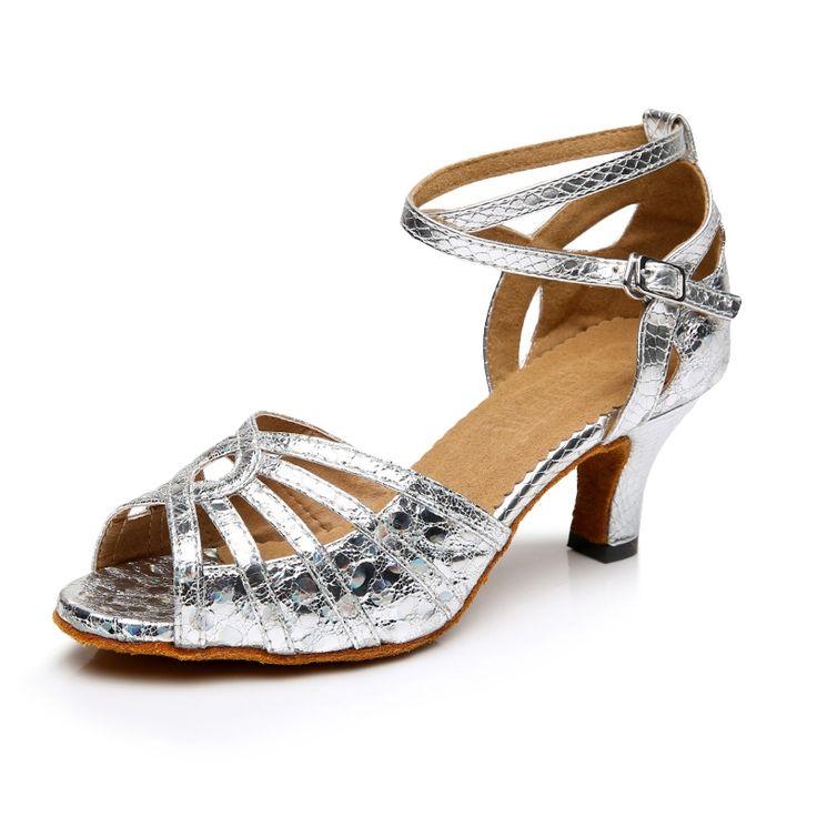 62.98$  Watch more here - http://aib2x.worlditems.win/all/product.php?id=32794785558 - Women Dance Shoes Glitter Women Latin Salsa Samba Ballroom Dance Shoes Zapatos De Baile Mujer Jazz Shoes Dancing Shoes Plus Size