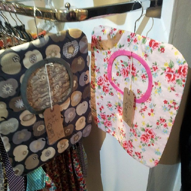 And here are the lovely @kitshina peg bags! #Huddersfield  #handmade