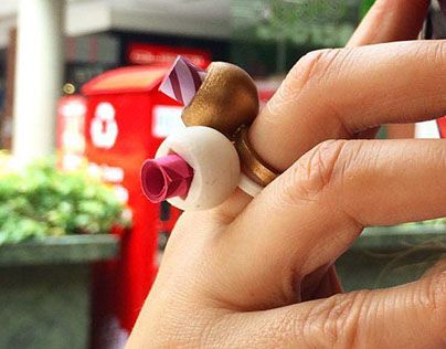 """Check out new work on my @Behance portfolio: """"·letter ring·"""" http://be.net/gallery/34289133/letter-ring"""