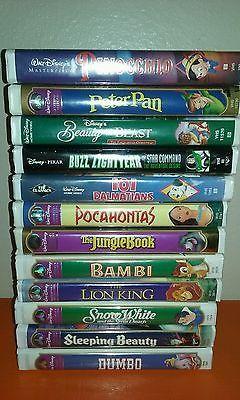 Lot of 12 Walt Disney Classics Home Video - VHS