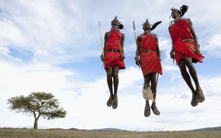 Maasai Jumping Dance   Safari Junkie