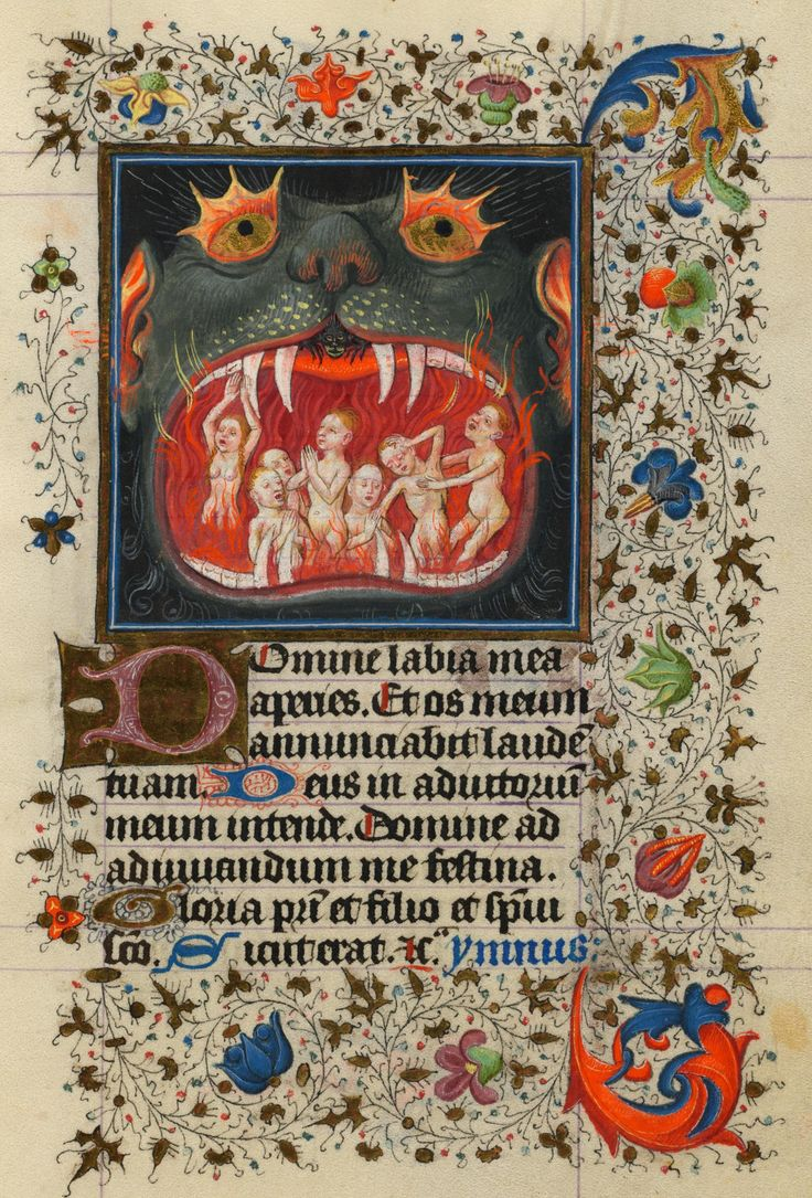 Souls Tormented in Purgatory | Hours of Catherine of Cleves | Illuminated by the Master of Catherine of Cleves | Utrecht, The Netherlands | ca. 1440 | The Morgan Library & Museum