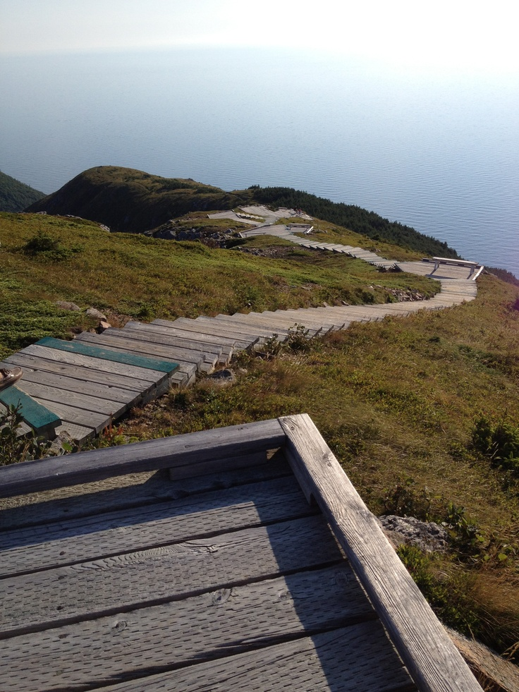 The Skyline Trail on Cape Breton Island