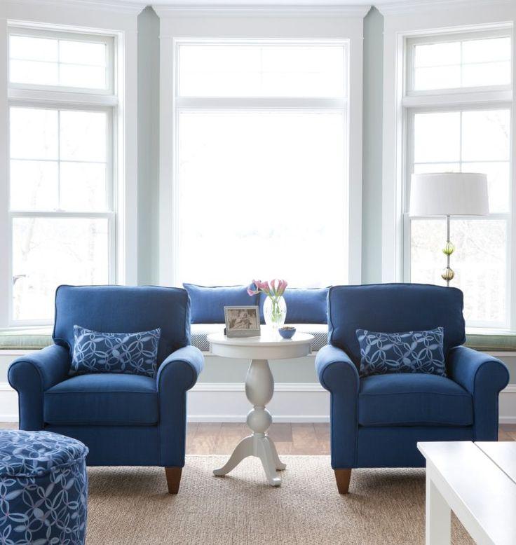 79 best Blue Living Room images on Pinterest | Blue and white, Blue ...