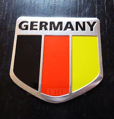 #German germany tricolour flag #chrome #effect badge for audi a1 a2 a3 a4 a5 a6 a,  View more on the LINK: http://www.zeppy.io/product/gb/2/401122864171/