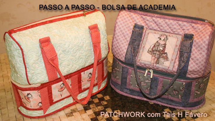 Neste vídeo a professora de patchwork da Facyl Casa dos Panos Tais H. Fávero, apresenta o passo a passo de uma bolsa para…